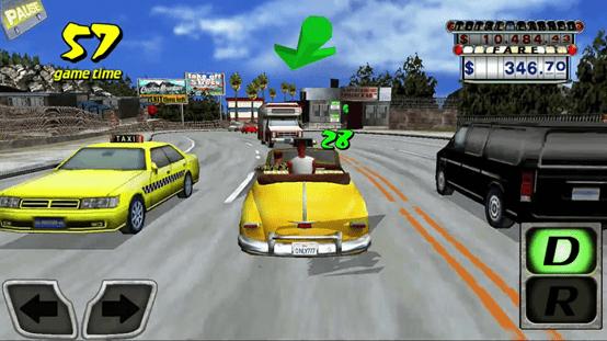 لعبة كريزى تاكسي